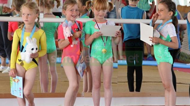 Šumperské gymnastky uspěly v Bruntále