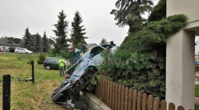 Opilý řidič na Bludovském kopci nezvládnul smyk