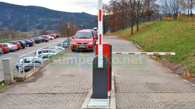 Jesenické lázně zavedly nový parkovací systém