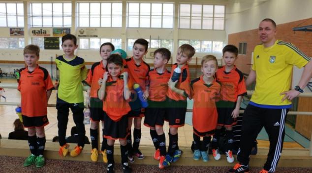 Výhra mladých šumperských fotbalistů r.2007 na turnaji v Prostějově
