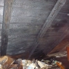 Chromeč - zahoření střechy domu     zdroj foto: HZS Olk.