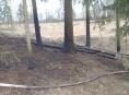 Hasiči v kraji likvidovali čtveřici sobotních požárů