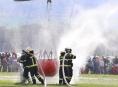 Dobrovolné jednotky hasičů na Šumpersku cvičily plnění bambivaku