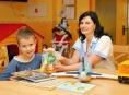 Vitamínové balíčky dostávají také děti v Nemocnici Šumperk