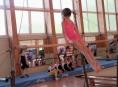 Začínající šumperské gymnastky soutěžily v Olomouci