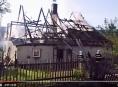 VIDEO: Likvidace požáru rodinného domku na Jesenicku