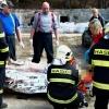 Smrtelná nehoda v Žulové                foto:HZS Ok