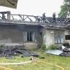 Velké Losiny - požár střechy rod. domu      zdroj foto: HZS OLk.
