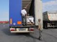 FOTO:Dálniční policie se zaměřila na autobusy, nákladní auta a kamiony