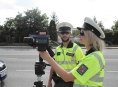 Policie se zaměřila na rychlost! Za odpoledne zkontrolovala 464 vozidel