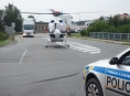 Při čelním střetu dvou vozidel v Mohelnici bylo zraněno pět osob