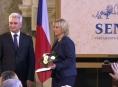 Senátoři ocenili odvážnou zachránkyni Janu Balcárkovou
