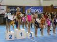 Gymnastky GK Šumperk uspěly na Vítkovice Cup i Baby Gym Cup