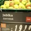 Obchod nabízel jablka s pesticidem       zdroj foto: SZPI