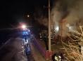 Oheň způsobil v obci Jedlí škodu za 60 tisíc korun