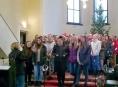 FOTO: Šumperský kostel se rozezvučel dětským zpěvem