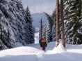 V zimním terénu se energetici neobejdou bez těžké techniky