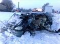 Osobní auto se v Šumperku střetlo s vlakem