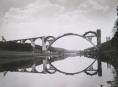 Historie stavby mostu v Podolsku