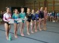 Šumperské gymnastky na závodech v Hradci Králové