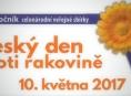 Český den proti rakovině letos připadá na 10. května