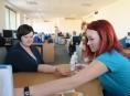 FOTO: Jak probíhal Den zdraví v call centru