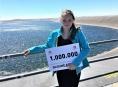 Miliontým návštěvníkem Dlouhých strání je školačka Anička z Nového Jičína