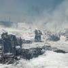 Zábřeh - likvidace požáru v soukromém areálu     foto: HZS Olk