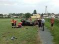 Hasiči asistovali při likvidaci následků dopravní nehody v Mladějovicích