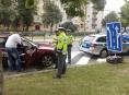 FOTO! Jak policie kontroluje taxikáře?