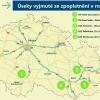 Dalších devatenáct kilometrů dálnic vedoucích poblíž měst bude od příštího roku bez poplatku   zdroj:MD