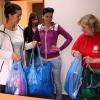 Operátorky zábřežského call centra provětraly šatníky       zdroj foto: V. Sobol