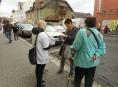 Bílá pastelka po roce opět v ulicích