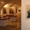 Díla akademického malíře Lubomíra Bartoše vystavuje šumperské muzeum foto: šumpersko.net