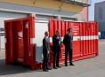 Hasiči v kraji získali nové kontejnerové energo centrum