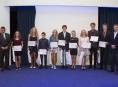 Školáci a studenti si převzali diplomy Talent Olomouckého kraje