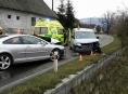 Zraněním čtyř osob skončila dopravní nehoda na Jesenicku