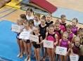 Gymnastky GK Šumperk závodily v Bučovicích