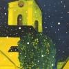 Noční kostel / olej – 300,-   zdroj: PONTIS