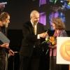 Olomouc - manželé Kovalovi přebírají cenu za rok 2014      zdroj foto: archiv Olk.