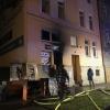 Olomouc - likvidace požáru na ulici Rooseveltova  zdroj foto: HZS Olk