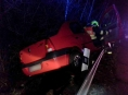Hasiči zasahovali u dvou nehod na téměř stejném místě