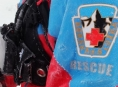 Horská služba zachraňovala skialpinistu ze sesuvu sněhu