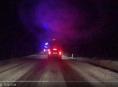 Silný vítr a vydatné sněžení zasáhlo i Olomoucký kraj