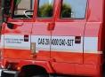 Při požáru garáže v Kopřivné explodovala plynová lahev