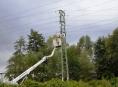 Energetická společnost zdvojila vedení vysokého napětí pro šumperskou průmyslovou zónu