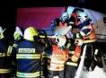Vážná dopravní nehoda na Mohelnicku si vyžádala pomoc hasičů