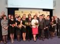 Krajské ocenění převzalo osmnáct učitelů