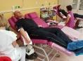 Hasiči Olomouckého kraje hromadně darovali krev