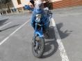Motorkář havaroval v Sobotíně